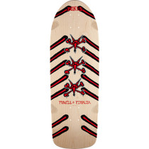 Pwl/P Og Rat Bones  Deck-10X30 Nat/Red/Blk