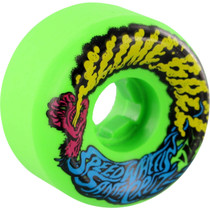 Santa Cruz Slimeballs Vomits Mini 56Mm 97A Neon Green