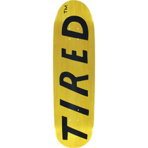 Tired Uppercase Logo On Deal Deck-8.75X31.87