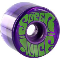 Oj Super Juice 60Mm 78A Trans Purple/Grn