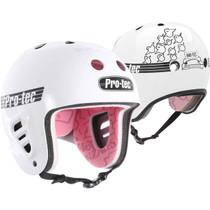 Protec Fullcut Gonz Wht-Xs Helmet
