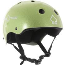 Protec Classic Green Flake-Xs Helmet