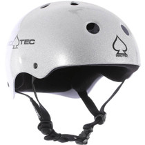 Protec Classic Silver Flake-L Helmet