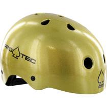Protec (Cpsc)Classic Gold Flake-Xs Helmet