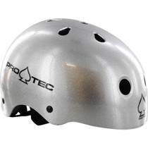 Protec (Cpsc)Classic Silver Flake-L Helmet