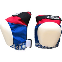 187 Pro Knee Pads Junior-Red/Wht/Blu