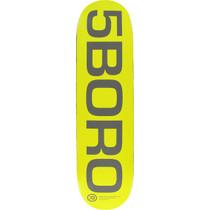 5Boro Ext Logo Deck-8.25 Yel/Grey