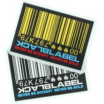 Bll Barcode Decal Single Asst.