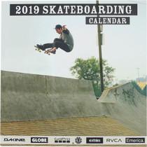 2019 Skateboarding Calendar