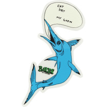 Baker Long Fish Talk Decal Single