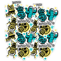Bones Earth Rollers 20/Pk Assorted Decal