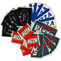 Pizza 10/Pack Assorted Decals
