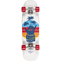 "Dusters Shaka Cruiser 29"" Complete-7X29 Wht/Red"