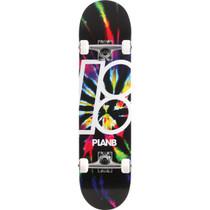 Plan B Dark Dye Complete-7.75 Blk/Tye Dye