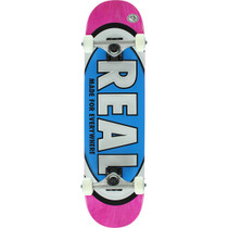 Real Team Oval Md Complete-7.75 Pink/Blue