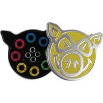 Pig Neon Abec-5 Bearings Single Set