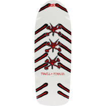 Pwl/P Og Rat Bones  Deck-10X30 White/Red/Blk