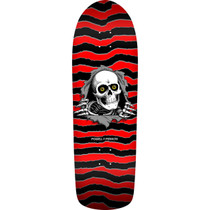 Pwl/P Old School Ripper 13 Deck-10X31.75 Red/Blk
