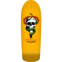 Pwl/P Mcgill Skull/Snake 03 Deck-10.0 Yellow