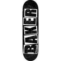 Baker Brand Logo Spider Deck-8.25 Blk/Wht