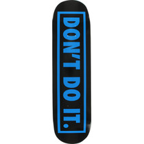 Consolidated Don'T Do It Deck-8.0 Blk/Blu
