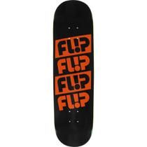 Flip Odyssey Quattro Deck-8.25 Blk/Org