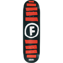 Found Doodle Stripe Deck-8.0 Blk/Red/Wht Ppp