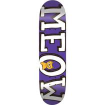 Meow Logo Deck-8.0 Purple