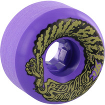 Santa Cruz Slimeballs Vomits Mini 56Mm 97A Neon Purple