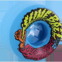 Santa Cruz Slimeballs Vomits Mini 54Mm 97A Neon Blue