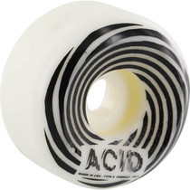 Acid Type A Swirl Sidecuts 56Mm White W/Black
