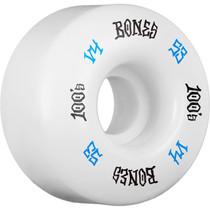 Bones 100'S Og #12 V4 53Mm White W/Blu/Blk Ppp