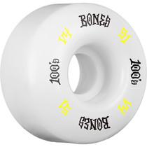 Bones 100'S Og #12 V4 51Mm White W/Yel/Blk Ppp