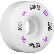Bones 100'S Og #12 V4 55Mm White W/Pur/Wht Ppp