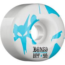 Bones Spf Reflections 58Mm 84B White/Blue