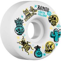 Bones Stf Earth Rollers V1 53Mm White