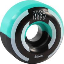 Orbs Apparitions Splt 56Mm 99A Teal/Blk
