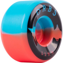 Orbs Specters 52Mm 99A  Blue/Coral W/Black