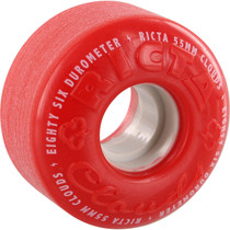 Ricta Clouds Red/Wht 55Mm 86A