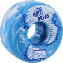 Ricta Whirlwinds 54Mm 99A Blue/Wht Swirl