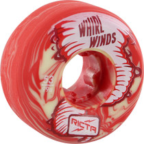 Ricta Whirlwinds 53Mm 99A Red/Wht Swirl