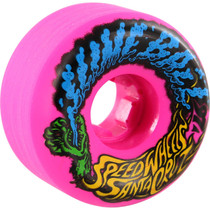 Santa Cruz Slimeballs Vomits Mini 56Mm 97A Neon Pink