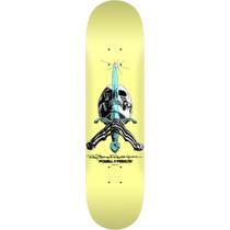 Pwl/P Skull & Sword Pastel Deck-8.25 Yellow