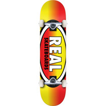 Real Oval Fades Complete-7.7 Yel/Red