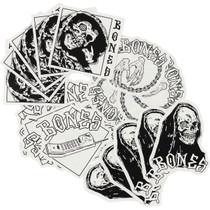 Bones Terror Nacht 20/Pk Assorted Decals