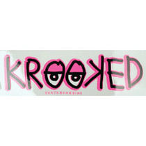 Krooked Sticker Eyes Md Decal Single
