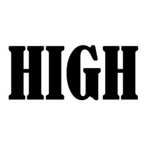 Almost High Decal Single