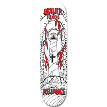 Reliance Beaver Lighthouse Ii Deck-8.0 Wht/Blk/Red