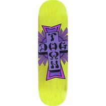 Dogtown Street Cross Deck-8.25 Yellow/Purple