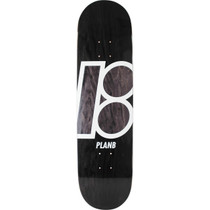 Plan B Stained Deck-8.5 Black